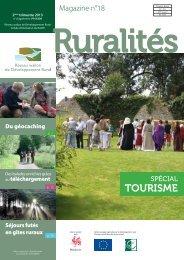 TOURISME - Réseau wallon de développement rural