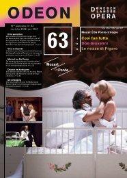 Così fan tutte Don Giovanni Le nozze di Figaro - De Nederlandse ...