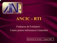 1. Suportul informatic al unui CIC - ANCIC