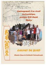 Le carnet chantier solidaire - Ecotourisme dans les Landes de ...