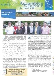 Mise en page 1 - Syndicat Mixte de l'Ardèche Verte