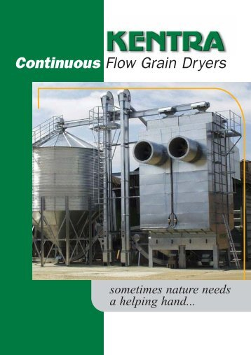 Kentra Dryer Brochure - Kentra Grain Systems Limited