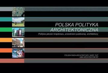 Polska Polityka Architektoniczna - Stowarzyszenie Architektów ...