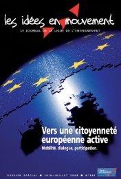Dossier spécial réalisé par la Ligue de l'enseignement. - Forum ...