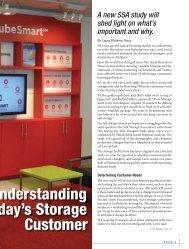 Today's Storage Customer - Self Storage Association Globe