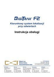 Odbiornik - Digital Control Inc.