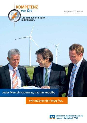 Geschäftsbericht 2010 - Husumer Volksbank eG