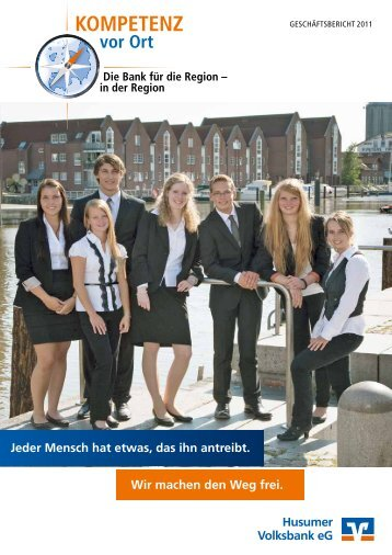 Geschäftsbericht 2011 - Husumer Volksbank eG