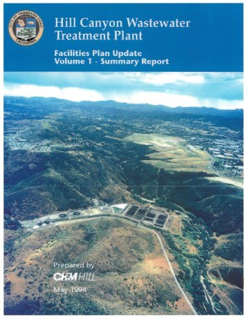 Hill Canyon Wastewater Treatment Plant Facilities ... - Thousand Oaks