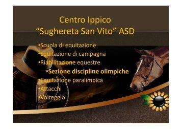 "Centro Ippico ""Sughereta San Vito"" ASD - Equiturismo Sughereta"