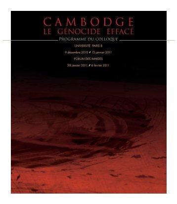 CAMBODGE - Université Paris 8