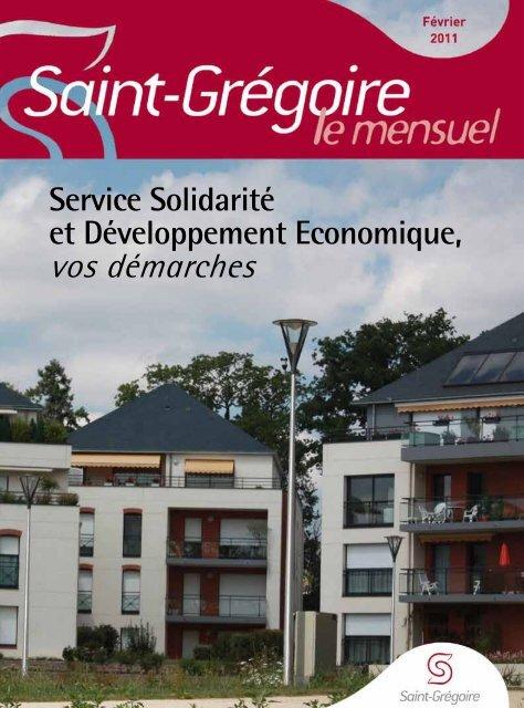 Saint-Grégoire, le Mensuel Février 2011