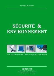 sécurité & ENVIRONNEMENT - vanas