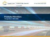 Produits Pétroliers - Association des économistes québécois