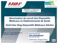Les Dispositifs médicaux - JIQHS