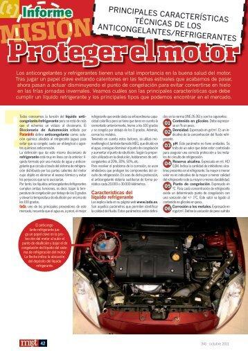 Proteger el motor - Mundo Recambio y Taller