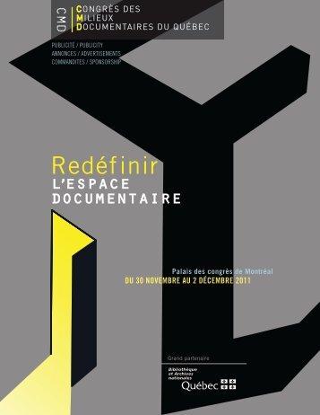 Redéfinir - Congrès des milieux documentaires