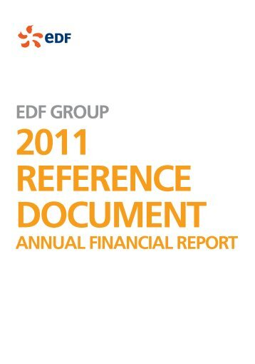 Introduction (PDF, 147 Kb) - Shareholders and investors - EDF
