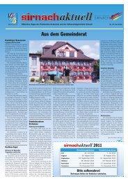 Sale - Gemeinde Sirnach