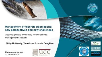 Management of discrete populations - The Atlantic Salmon Trust