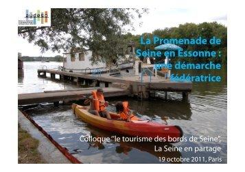 L'exemple de la Promenade de Seine en Essonne - AUDESO