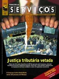 Justiça tributária vetada - Fenacon