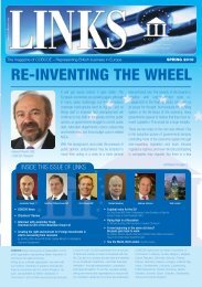 Spring 2010 issue of Links - Cobcoe.eu
