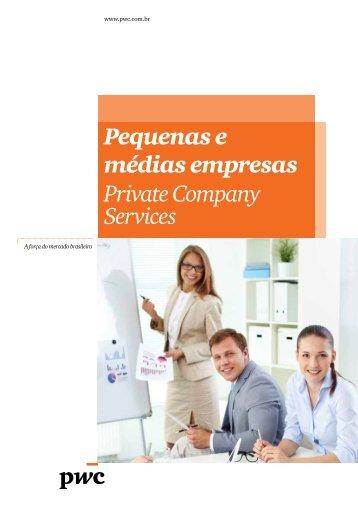 Pequenas e médias empresas Private Company Services - PwC