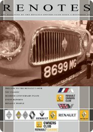 December 2011 Draft.pdf - Renault Owners Club Forum