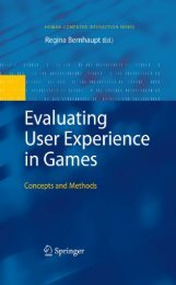 Evaluating User Experience in Games: Concepts and Methods - Lirmm