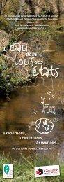 Dépliant 105x297 - Ecotourisme dans les Landes de Gascogne