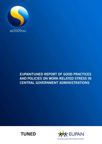 eupan/tuned report of good practices and policies on work