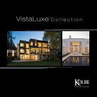 VistaLuxe™Collection - Cleary Millwork