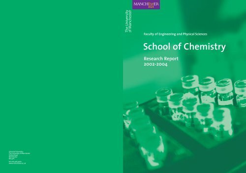Biological Chemistry - School of Physics and Astronomy - The ...