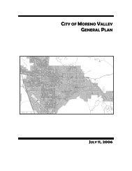 General Plan - Moreno Valley