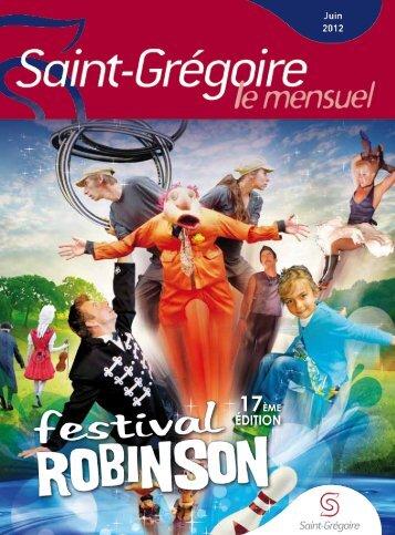 Saint-Grégoire, le Mensuel Juin 2012