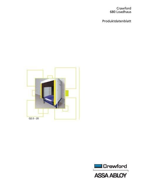 Crawford 680 Loadhaus Produktdatenblatt - Crawford hafa GmbH