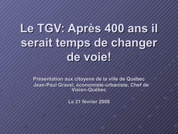 Présentation - Association des économistes québécois
