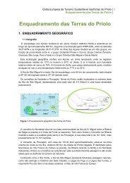 Enquadramento das Terras do Priolo - Centro Ambiental do Priolo