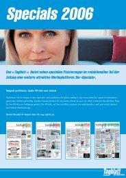 Das «Tagblatt » bietet neben speziellen Platzierungen im ...