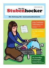 Vollständige Jahresausgabe 2012 - Stubenhocker - Die Zeitung für ...