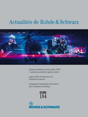 Actualités de Rohde & Schwarz - Rohde & Schwarz International