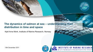 Migration routes - The Atlantic Salmon Trust