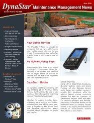 DynaStar Maintenance Management News - Coe Manufacturing Co.