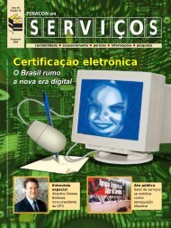 Certificação eletrônica Certificação eletrônica - Fenacon