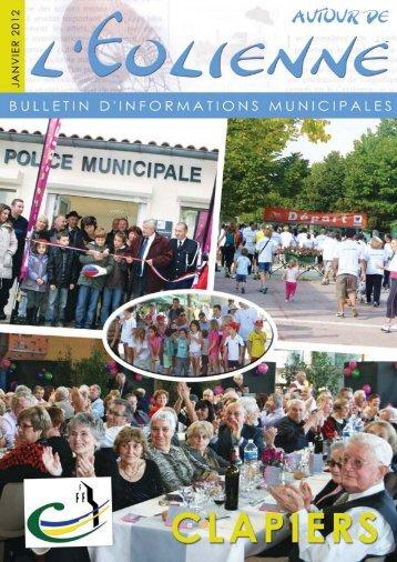 Bulletin municipal Jan 2012 - Mairie de Clapiers