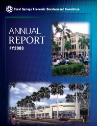 Economic Development Foundation Biannual Report 2003