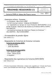 PERSONNES RESSOURCES (1) - Ubapar