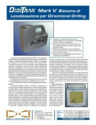 Mark V Sistema di Localizzazione per Directional Drilling