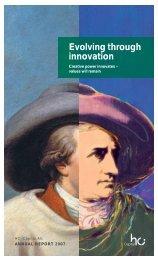 Evolving through innovation - HCI